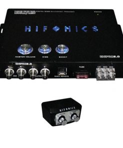Hifonics Digital Bass Enhancement Processor with Dash Mount Remote Control
