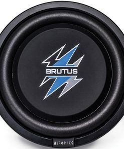 "Hifonics 12"" Brutus Series Shallow Subwoofer 500W Max 4 Ohm DVC"