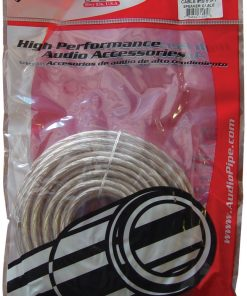 Audiopipe 10 Ga. Speaker Cable 50ft(CABLE1050CLR)