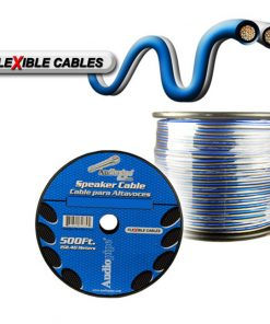 Audiopipe 12 Gauge Flexible Speaker Cable 500Ft