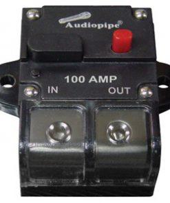Audiopipe 100Amp Manually Resettable Circuit Breaker