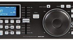 "Epsilon Professional 19"" dual rack multi-format digital CD/MP3/USB player"