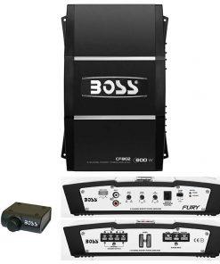 Boss 2 Channel 800W Max Fury Series Amplifier