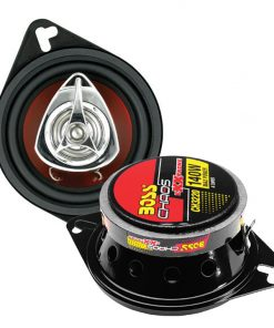 "Boss 3.5"" Speaker 2-Way red poly injection cone"