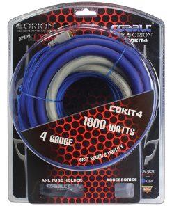 Cobalt Orion Complete Amplifier Kit 4 Gauge
