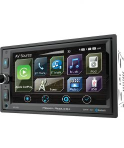 "Power Acoustik D.Din 6.5"" Multimedia Receiver With Apple Car Play"