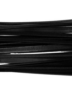 "WIRE TIES 8"" BLACK 100 PCS XSCORPION"