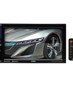 "Soundstorm 6.5"" Double Din Touchscreen Receiver Bluetooth Aux/USB/SD"
