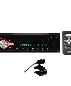 Pioneer CD Player w/USBAuxVar.Clr DisplayBT Spotify3xPreOut SAT RDY