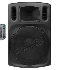 """Audiopipe 12"""" Professional Loudpeaker FM Tuner USB/SD Remote"""