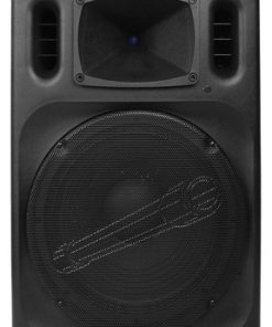 "Audiopipe 15"" Professional Loudpeaker Bluetooth FM Tuner USB/SD Remote"