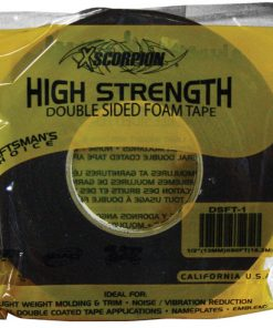 "Xscorpion 1""x60ft double side foam tape"