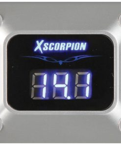 Xscorpion 3 Digit LED Digital Voltmeter-Silver