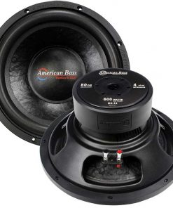 "American Bass 12"" woofer 600 watts max 4 Ohm SVC"