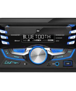 Dual Double Din CD Player with Bluetooth Remote