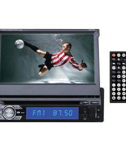 "Dashyu 7"" Indash Flip Out DVD Receiver Bluetooth Detach Face Aux input remote"