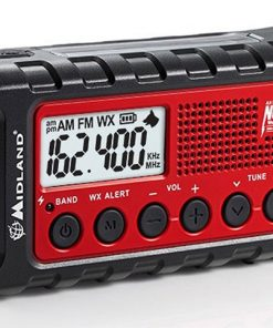 Midland Emergency Solar Hand Crank AM/FM Digital Weather Radio