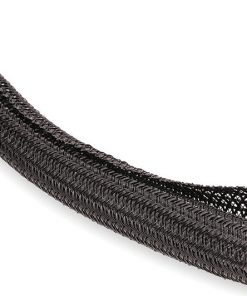 TechFlex Flexo F6 150ft Black Split Loom 3/8-inch Braided Cable Sleeve