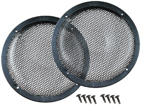 "Qpower 12"" Woofer Grills Sold in pairs"