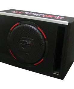 """HED 10"""" Single Loaded Slot-Vented Enclosure 250W RMS/1000W MAX"""