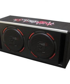 "HED 12"" Dual Loaded Slot-Vented Enclosure 500W RMS/2400W MAX"