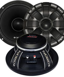 "Orion HCCA 8"" Super Midrange(sold in pairs) Ultra High Efficiency Speaker 2600W Max"