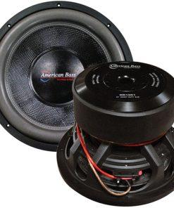 "American Bass 12"" Woofer 3000 watts max 1 Ohm DVC"
