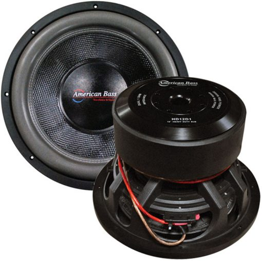 "American Bass 12"" Woofer 3000 watts max 1 Ohm DVC"