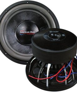 "American Bass 12"" Woofer 3000 watts max 2 Ohm DVC"