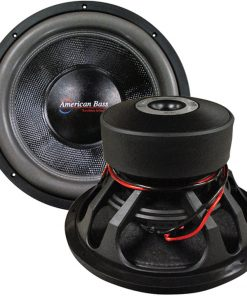 "American Bass 15"" Woofer 3000 watts max 1 Ohm DVC"