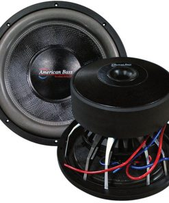 "American Bass 18"" Woofer 3000 watts max 2 Ohm DVC"
