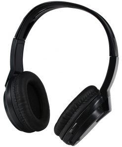 Audiovox Wireless Headphones Single channel IR Faux leather ear piece 2-AAA included