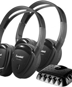 HEADPHONES SWIVEL EARPAD *PR* 1 CH. IR W/TRANSMITTER;P.ACSTK