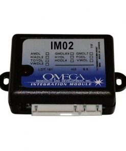 UPGRADEABLE VEHICLE DOOR LOCK ALARM INTERFACE;OMEGA RESEARCH