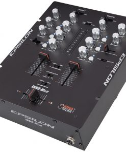 Epsilon Ultra compact Pro DJ battle mixer with built in mini iNNO (black)