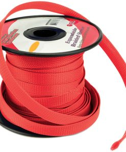 Installation Solution Expandable Braided Sleeve Red 3/8""