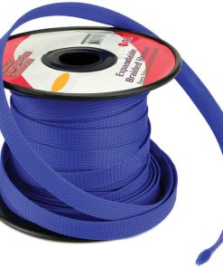 Installation Solution Expandable Braided Sleeve Blue 1/4""