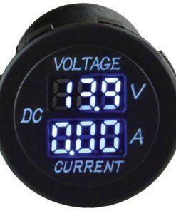 Nippon 12-24V 5A ampere voltage meter socket