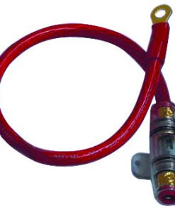 "POWER KIT 4GA. RED 60A AGU W/18"" WIRE;RING TERMINAL"