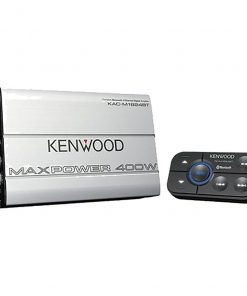 Kenwood Marine 400 Watt 4 CH. Amp with Bluetooth