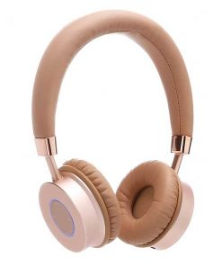 Contixo Premium Kids Headphones Volume Limit 85d Bluetooth Wireless Over Ear Microphone Gold
