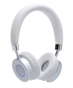 Contixo Premium Kids Headphones Volume Limit 85d Bluetooth Wireless Over Ear Microphone White