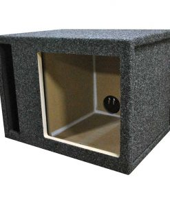 EMPTY WOOFER BOX; R/T SINGLE 12 FOR KICKER L5+L7; SLOT VENT