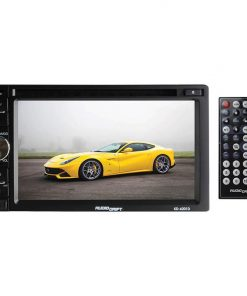 """Audiodrift 6.5"""" Indash DVD/CD/MP4 Player with USB/SD/MMC/AM/FM and remote"""