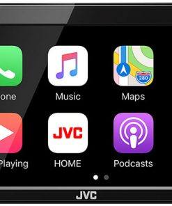 "JVC D.Din 6.8"" AM/FM/BT No DVD Touchscreen Apple CarPlay Android Auto WebLink Compatible"