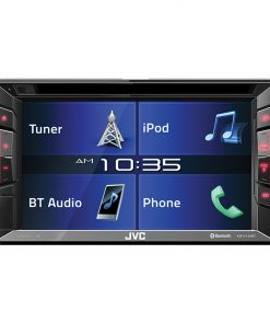 "JVC Double Din BT In-Dash DVD/CD/AM/FM Car Stereo w/6.2"" Touchscreen"