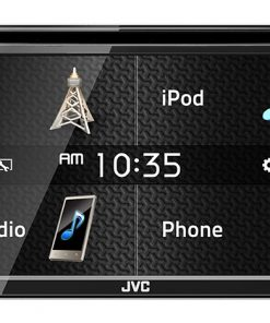 "JVC D.Din 6.8"" Touchscreen AM/FM/CD/DVD/BT SiriusXM"