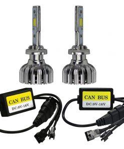 T-View LED Headlight  - Double Sided LED Kit 6K - H7 Bulb