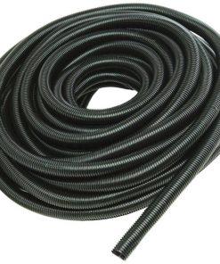 "Nippon 1.5"" Black Protective Loom 100ft"