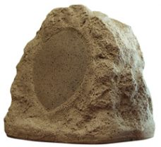"Dual 6.5"" 2-Way Decorative Rock Speaker"